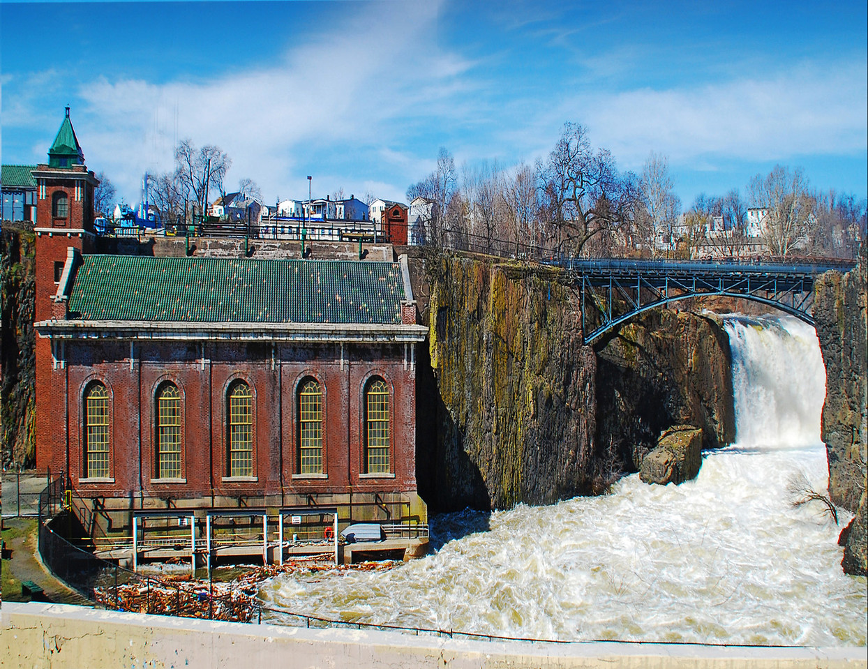 The Great Falls At Paterson