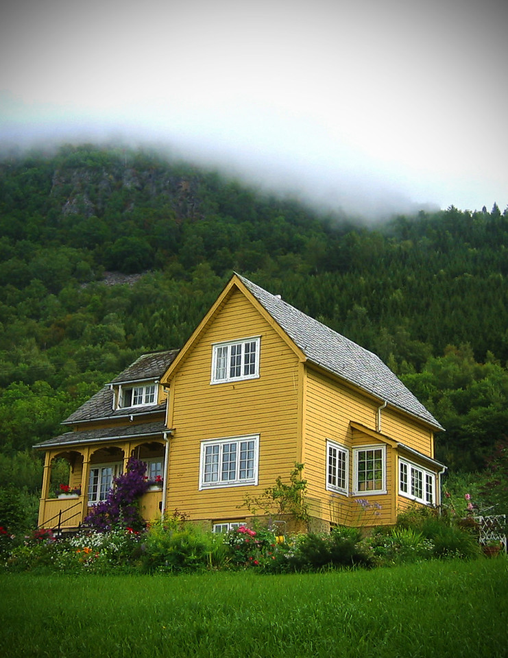 Local Home In The Fjords, Norway