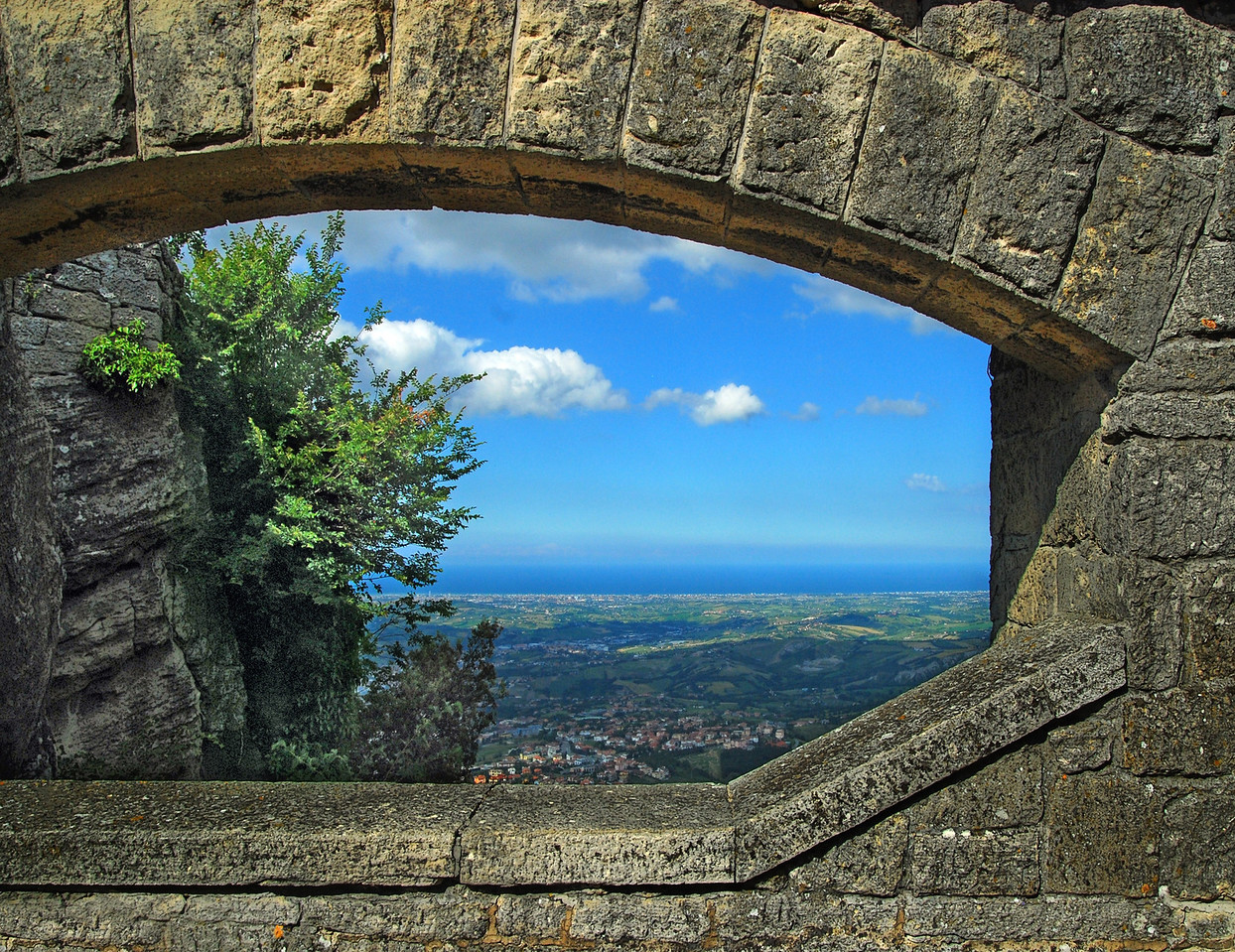 View Of Rimini