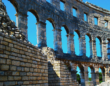 Colosseum-like, Pula, Croatia