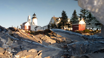 Evening Sun, Pemaquid Point Lighthouse. Pemaquid Point, Bristol, Maine