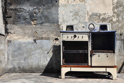 Manson's Stove, Barker Ranch, Death Valley NM