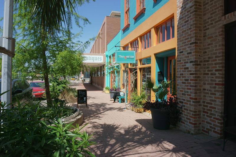 On Postoffice Street, Galveston, Texas