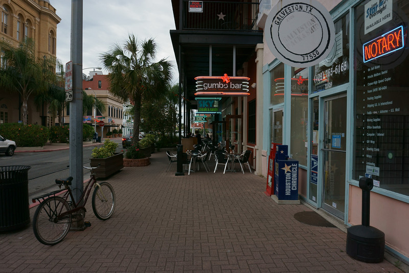On Postoffice Street, Galveston, Texas