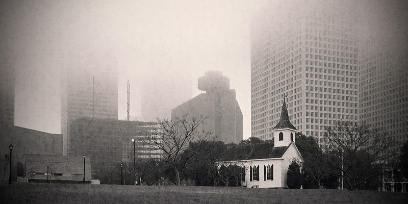 Houston. Twenty or thirty or so years ago.
