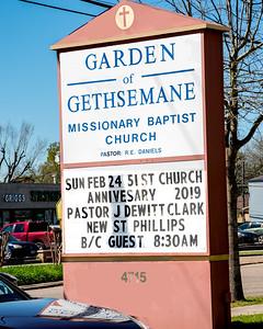 Garden Of Gethsemane 51st Anniversary