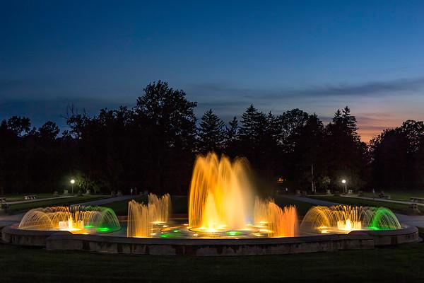 Garfield Park - Sunken Garden - Indianapolis, Indiana