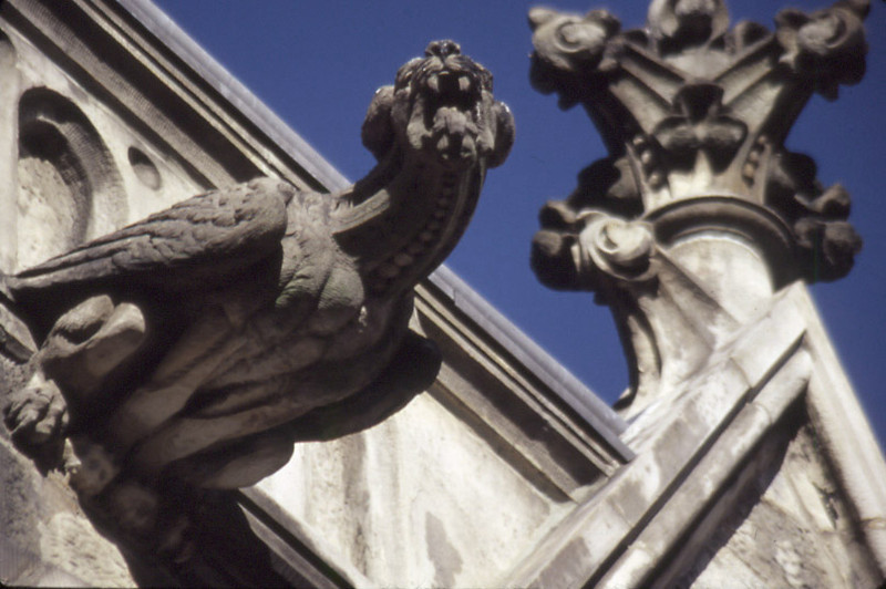 Gargoyle, Brooklyn.