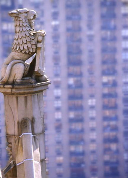 Griffin Holding Shield, New York City.