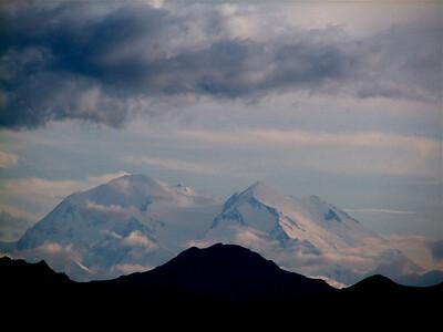 Mt. McKinley from 70 miles away! Denali National Park, Alaska