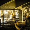 Under the Cass Street Bridge