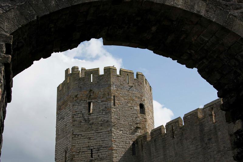 Caernarfon Castle - April 2009