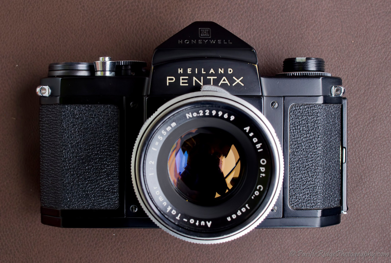 1959 Black Heiland Pentax H2 with a 55/2.0 Auto Takumar