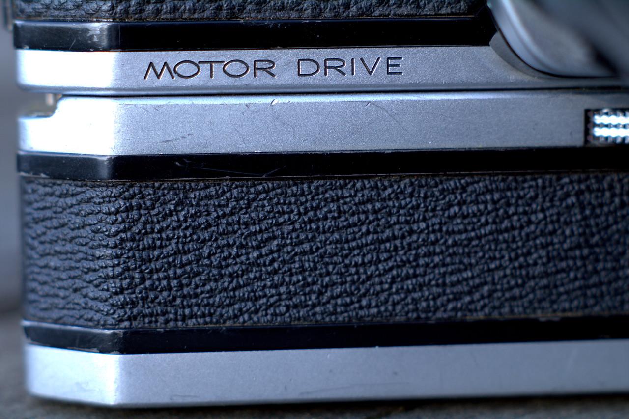 1973 Spotmatic F Motor Drive
