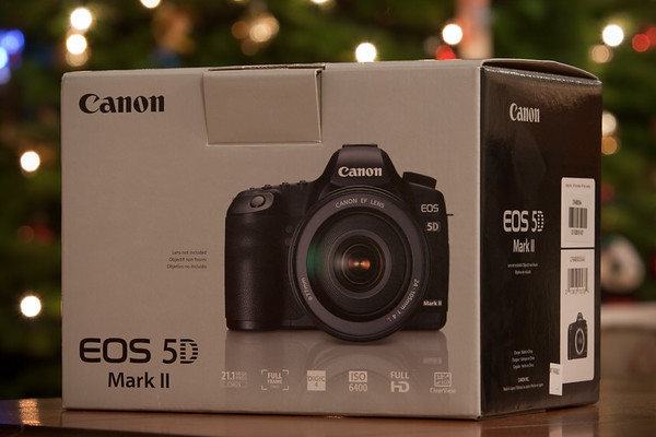 Christmas comes early...my Canon EOS 5D Mark II has arrived