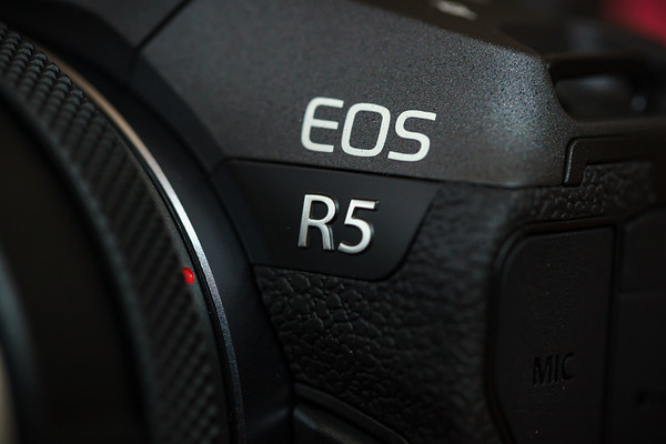 Macro closeup of EOS R5
