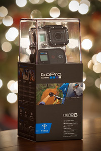 "Got a new ""toy"" for Christmas...GoPro's HD Hero3: Black Edition!"