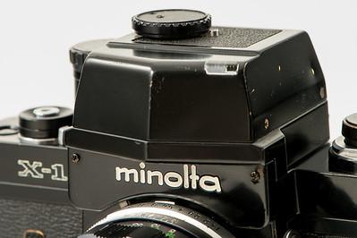 Minolta SRT & X Cameras