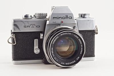 Minolta SR-T 101 (1966).