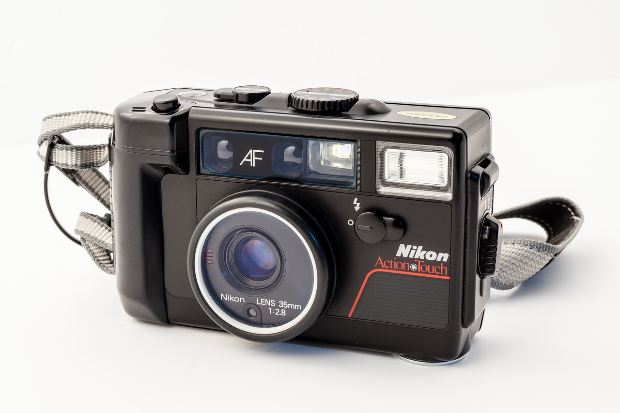 "Nikon L35AWAF ""Action Touch"" (1986). A nice waterproof film camera."