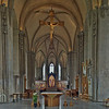 Linköping Cathedral taken with the DYI 17mm Tamron PC-lens. It is made up of 3-stitched panes, each of them being a 7-stop HDR.