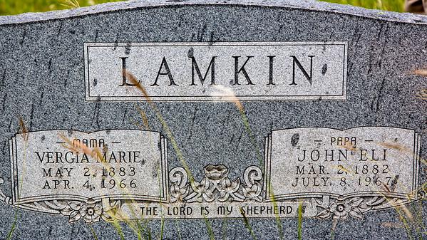 Lamkin, John Eli (1882-1967) and Herndon-Lamkin, Vergia Marie (1883-1966)