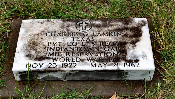 Lamkin, Charles Glen (1922-1962)
