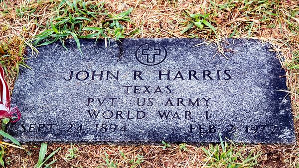 Harris, John R (1894-1972)