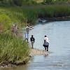 Cast Netting on Creek
