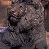 Lion Sculpture at the Atlanta Zoo
