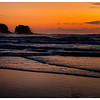 Twin Rocks Sunset<br /> Rockaway Beach Oregon