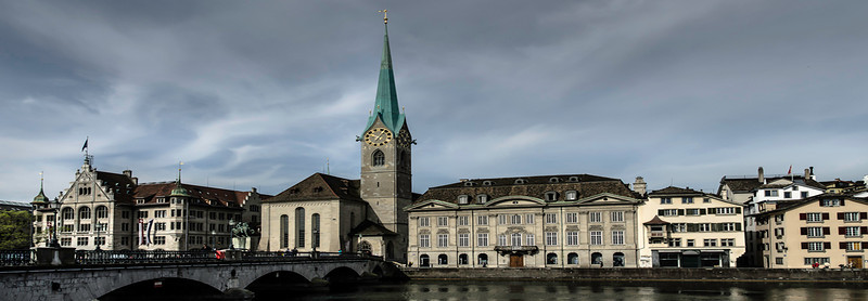 Fraumunster Church Zurich Switzerland