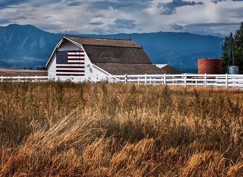 Colorado Barn<br /> Near Boulder Colroado