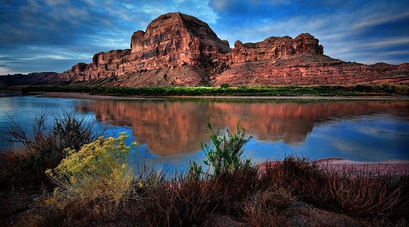 Colorado River<br /> Moab Utah Area