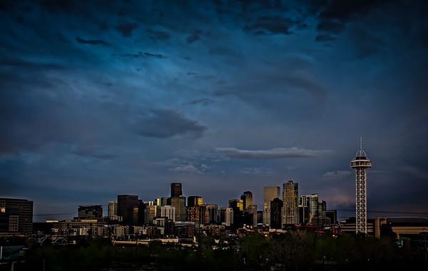Evening light at Denver