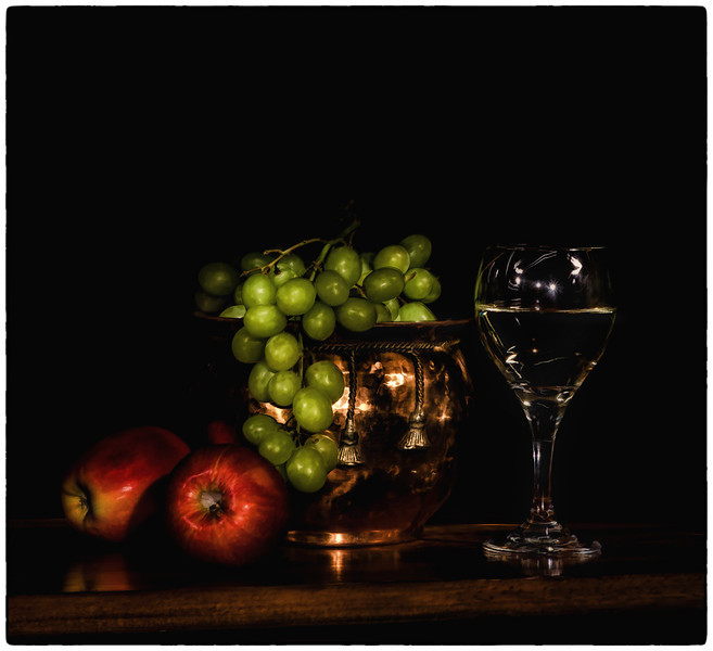 Apples,- Grapes, and Wine