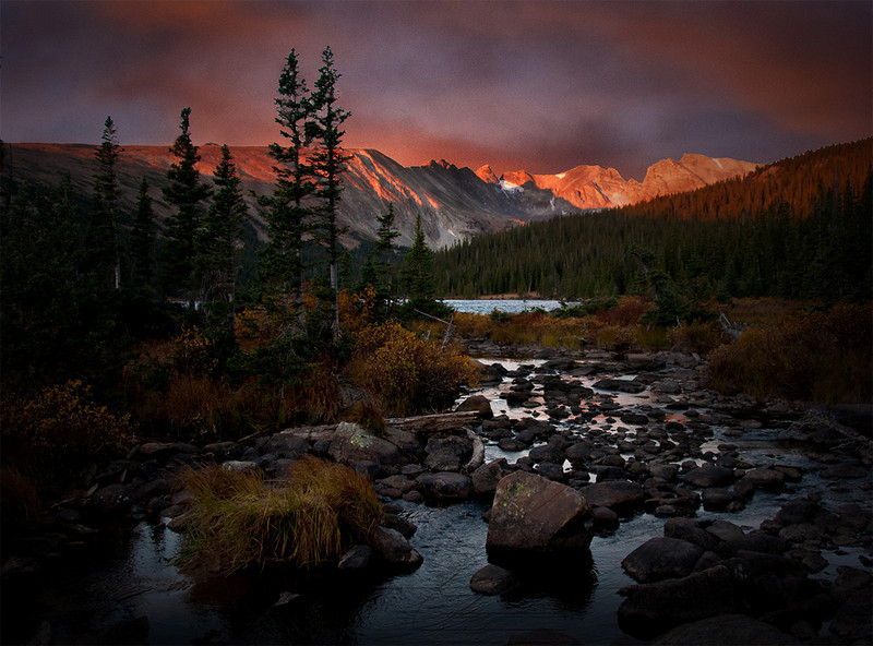 Longs Lake<br /> Brainard Lake Area<br /> Rocky Mountain National Park<br /> Colorado