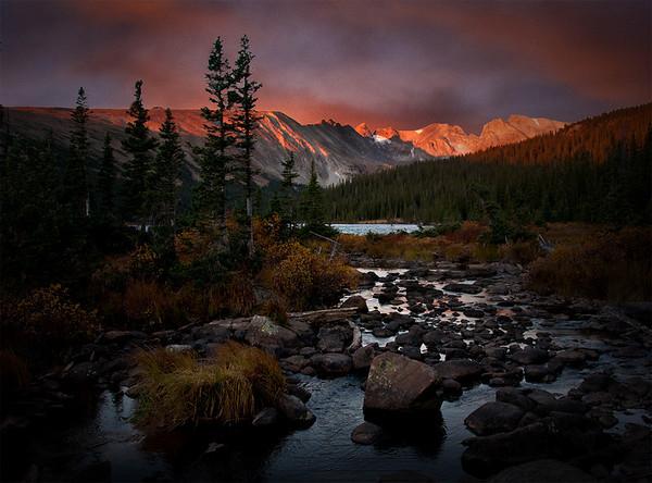 Longs Lake Brainard Lake Area Rocky Mountain National Park Colorado