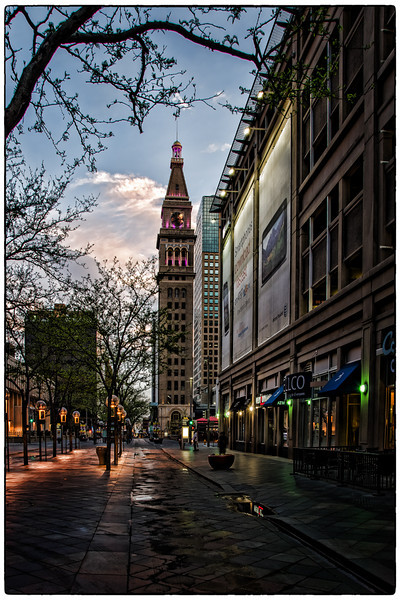 16th Street Mall Clock Tower<br /> Downtown Denver