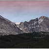 Mt Meeker 13, 911 ft --Longs Peak 14,259 ft