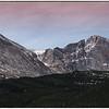 Mt Meeker 13, 911 ft --Longs Peak 14,259 ft