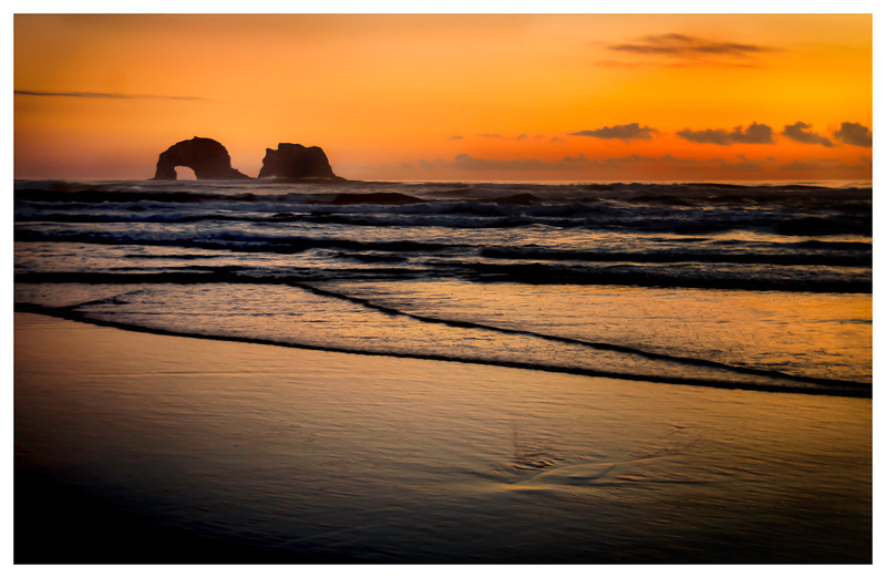 Twin Rocks<br /> Oregon Coast