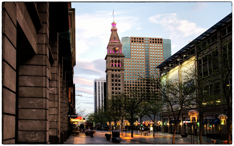 Denver City D&F Clock Tower