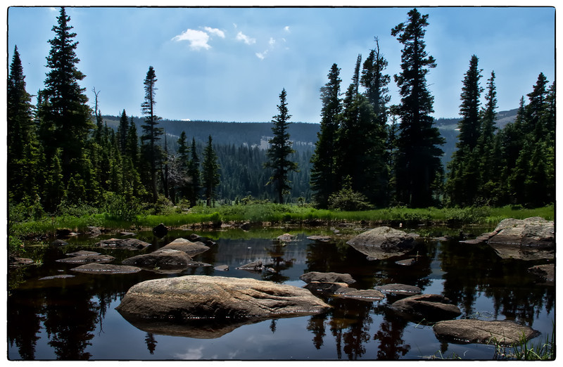 Lake Isabel Lake Trail<br /> Rocky Mountain National Park