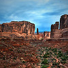 Park Avenue<br /> Arches National Park<br /> Moab Utah