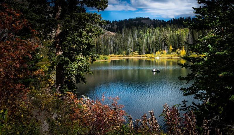 Fall Colors at Tonys Grove Utah