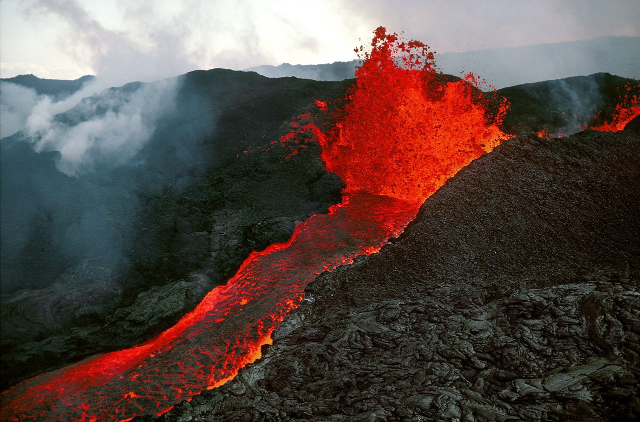 Mauna Loa Eruption, Big Island of Hawaii