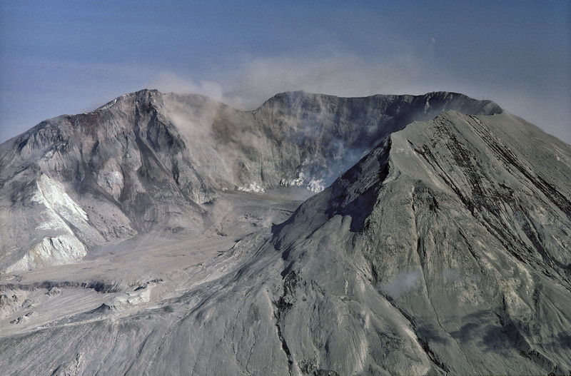 Mt. St. Helen's Smoking Caldera 1980, Washington
