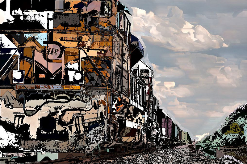 Graphic Locomotive