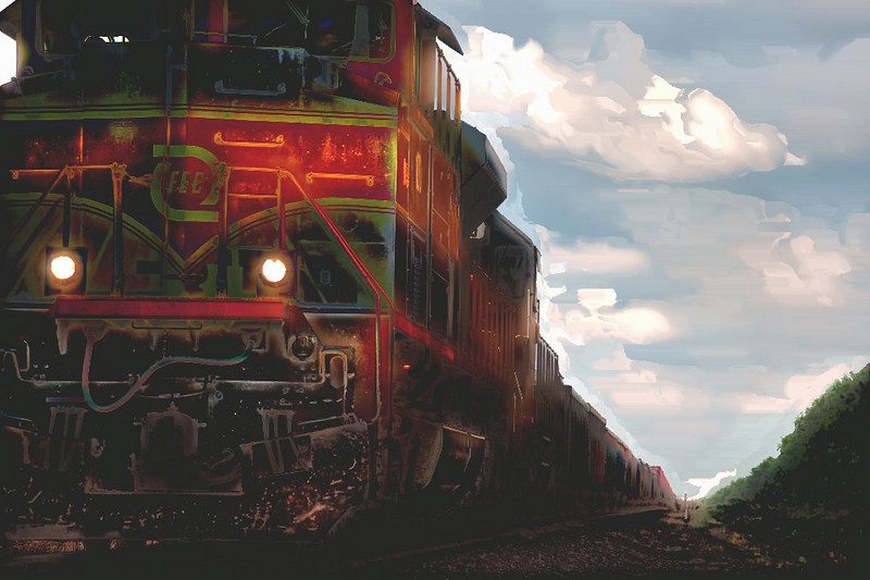 Same Train-Different Color